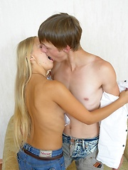 Real sex action between two teen lovers
