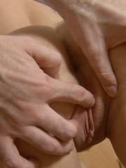 Her holes won\\\'t forget this \\\'wet\\\' pleasure