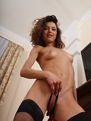 Engaging and uninhibited model with perfect body in a variety of arousing .