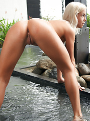 Big eyes and big breasts, big hips and really big sexy on this blonde girl Emma from hot land.