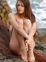 Sofi is catching everything with her big net, naked fishing is one of the newest sensations and I am ready to try it.