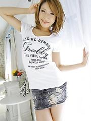 Nalgasclub Aya brown hair japanese girl