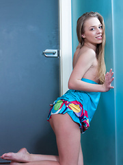 Liv A takes off her sexy sundress