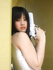 Shizuka Minami caught saving the fucked girl.