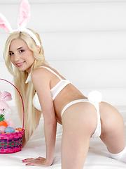 Little Piper Perri and Preston are having easter sex like rabbits